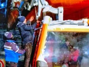 60 de turiști, blocați vineri seară, în telegondola de pe pârtia Rarău