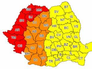 Val de căldură și disconfort termic ridicat în întreaga țară