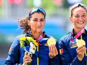 Nicoleta-Ancuta Bodnar si Simona Radis au devenit campioane olimpice. Foto Profimedia