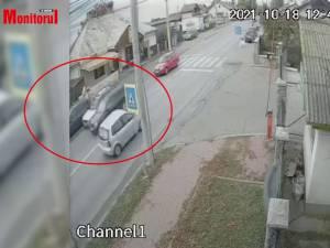 Accident cu cinci mașini avariate, după ce un șofer a vrut să evite coloana prin dreapta