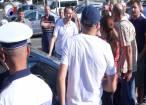 Scandal în intersecţia de la Lidl, cu patru maşini avariate şi un poliţist acuzat că a dirijat greşit traficul