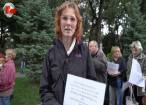 50 de suceveni însoţiţi de câini au protestat împotriva eutanasierii