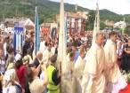 Emoţionant apel la solidaritate, rostit ieri de Patriarhul latin al Ierusalimului, la Sanctuarul de la Cacica