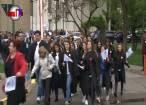 Exuberanţă, zgomot, veselie şi culoare la primul marş al studenţilor suceveni