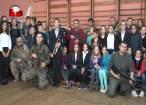 Expoziţie inedită de arme şi dotări militare, la şcolile din Mitocu Dragomirnei şi Poiana, Zvoriştea
