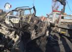Cinci tineri au murit în chinuri groaznice după ce au ars ca torţele într-o maşină scăpată de sub control