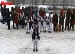 Obiceiurile de Crăciun şi Anul Nou, aduse la Monitorul de Suceava de elevii din Băneşti şi Stamate