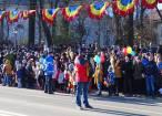 Mii de oameni prezenți în centrul Sucevei la sărbătorirea Zilei Naționale a României